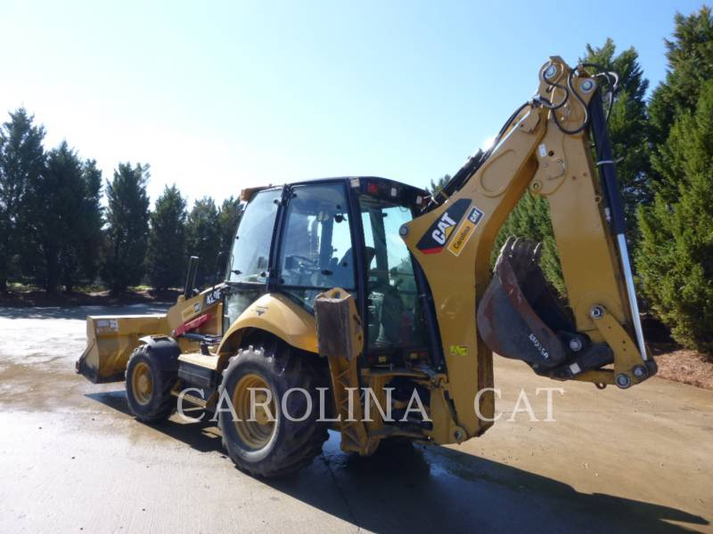 CATERPILLAR BAGGERLADER 420F CB equipment  photo 3