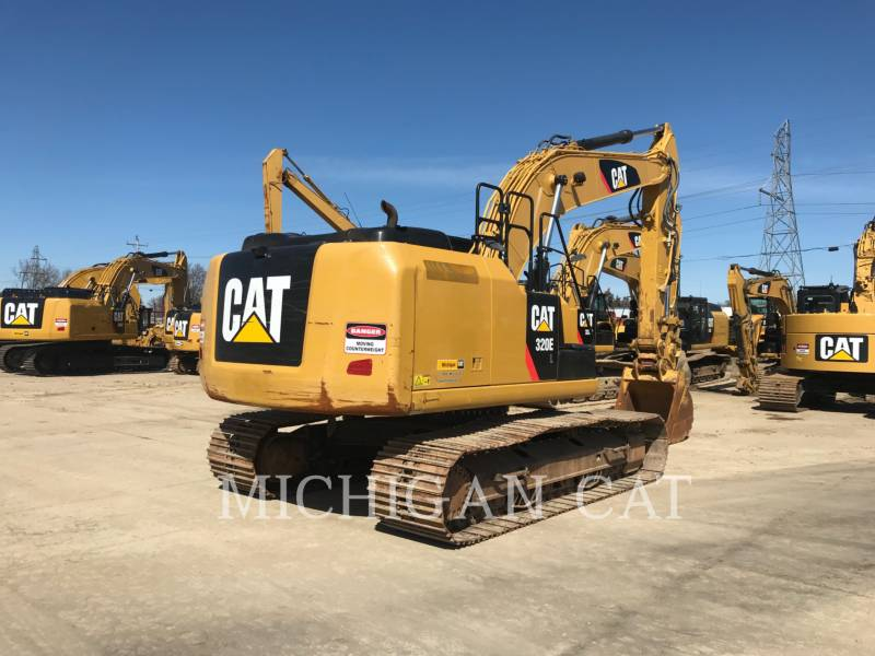 CATERPILLAR PELLES SUR CHAINES 320EL PQ equipment  photo 3