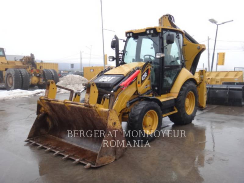 CATERPILLAR CHARGEUSES-PELLETEUSES 428 F equipment  photo 2