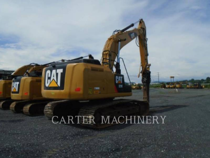 CATERPILLAR TRACK EXCAVATORS 329EL CF equipment  photo 3