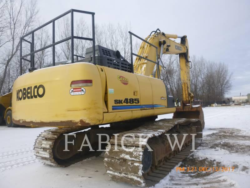 KOBELCO / KOBE STEEL LTD TRACK EXCAVATORS SK485LC equipment  photo 4