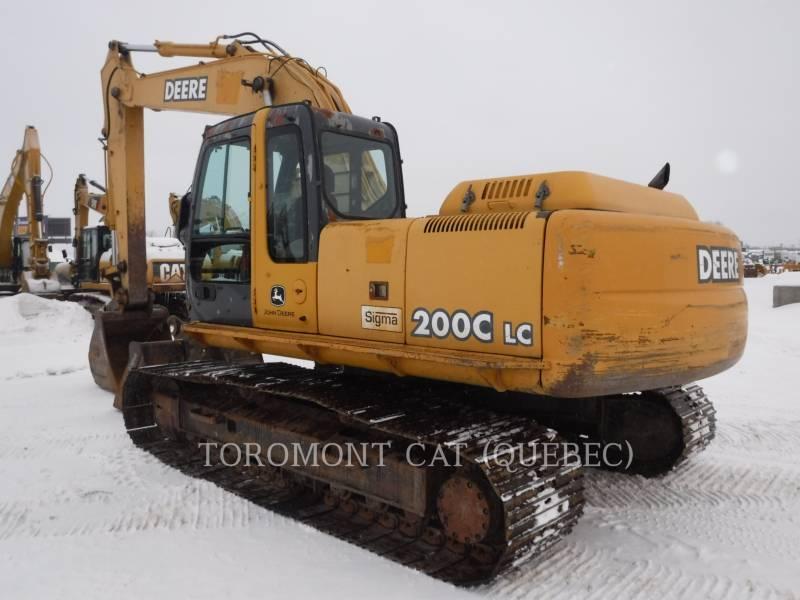 JOHN DEERE TRACK EXCAVATORS 200C equipment  photo 3