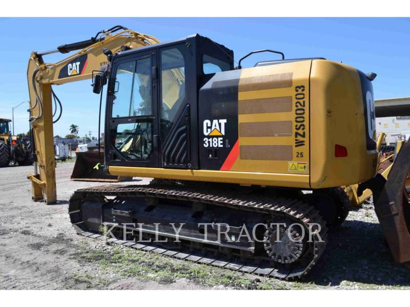 CATERPILLAR TRACK EXCAVATORS 318EL equipment  photo 3