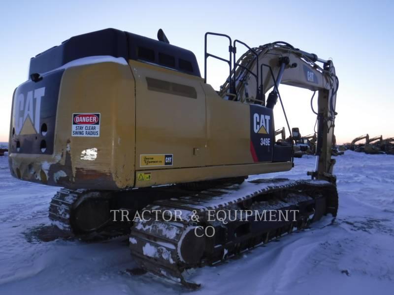 CATERPILLAR TRACK EXCAVATORS 349E L equipment  photo 3