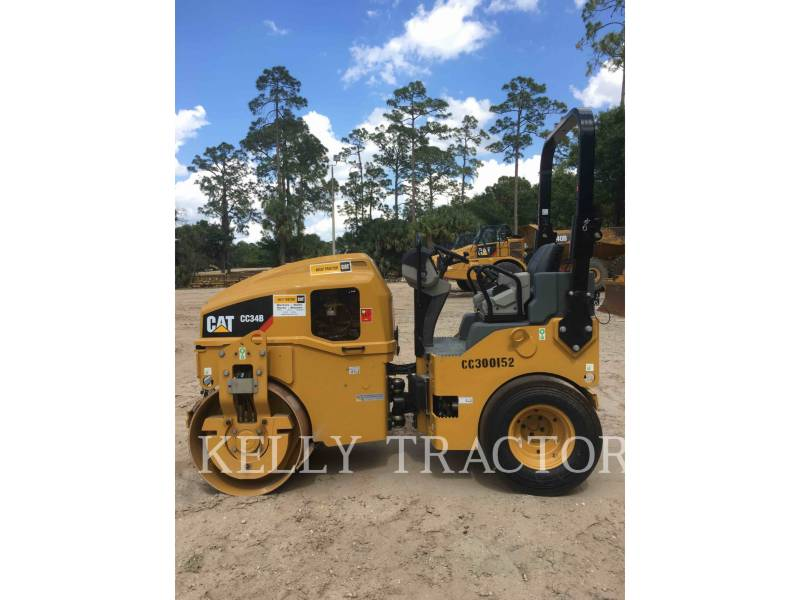 CATERPILLAR COMPACTEURS MIXTES CC34B equipment  photo 6