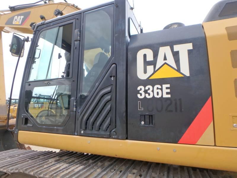 CATERPILLAR TRACK EXCAVATORS 336EL equipment  photo 23
