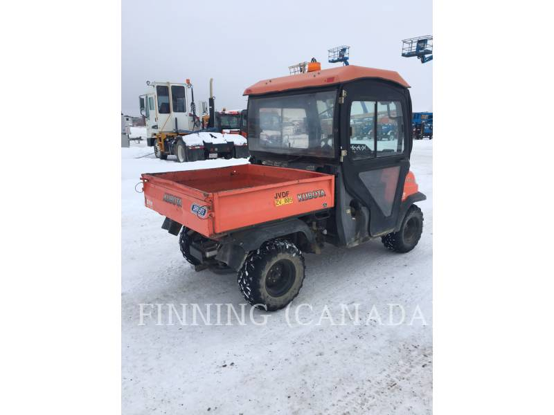 KUBOTA CORPORATION UTILITY VEHICLES / CARTS RTV 900 equipment  photo 4