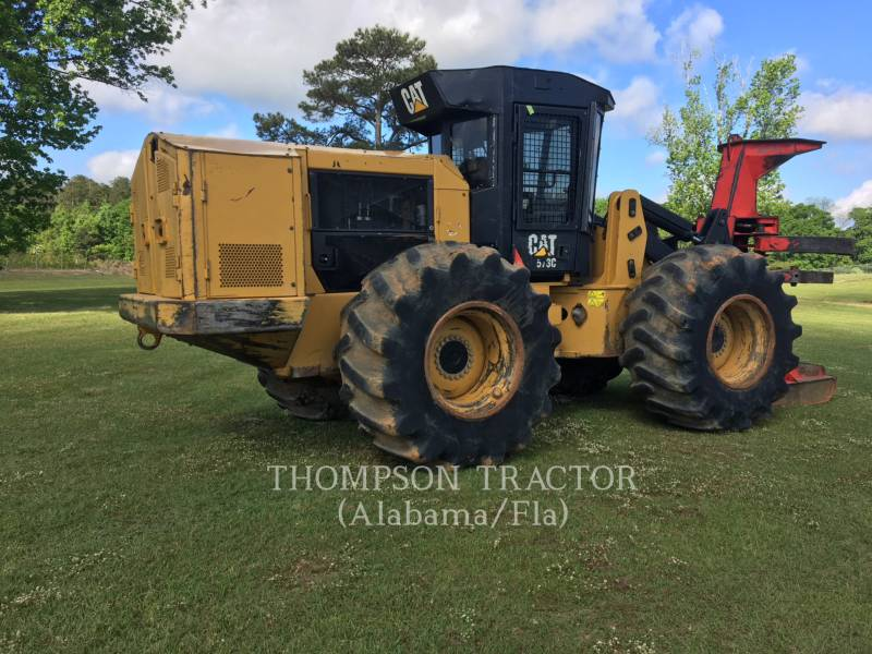 CATERPILLAR FORESTRY - FELLER BUNCHERS - WHEEL 573C equipment  photo 15