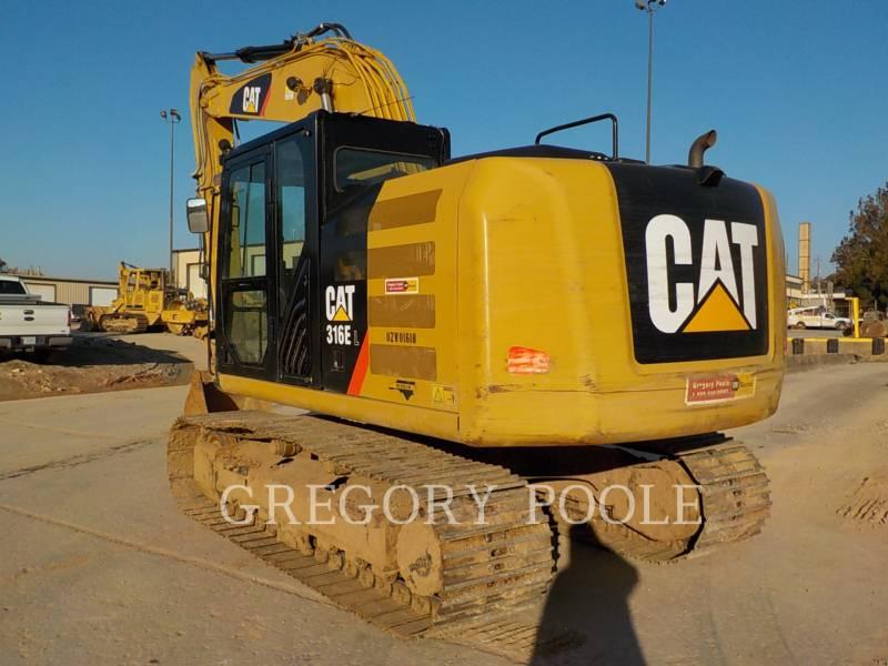 CATERPILLAR TRACK EXCAVATORS 316E L equipment  photo 7