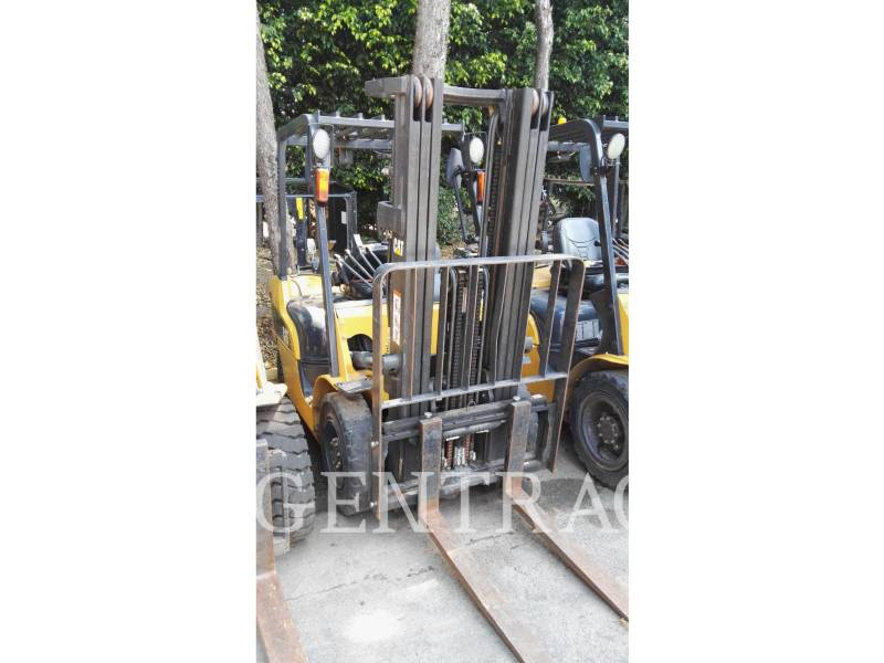 MITSUBISHI CATERPILLAR FORKLIFT FORKLIFTS GP25NM equipment  photo 2