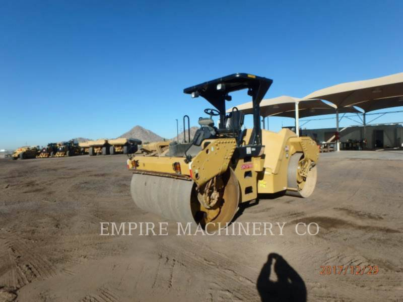 CATERPILLAR VIBRATORY DOUBLE DRUM ASPHALT CB64 equipment  photo 4