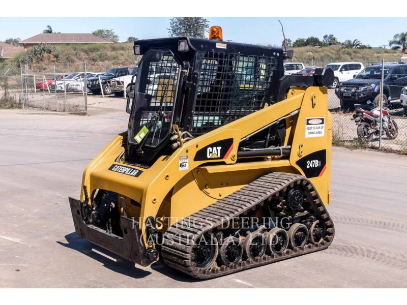 CATERPILLAR PALE CINGOLATE MULTI TERRAIN 247B3LRC equipment  photo 1