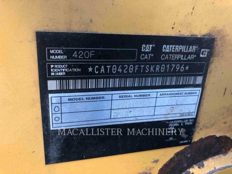 CATERPILLAR BACKHOE LOADERS 420FST equipment  photo 11