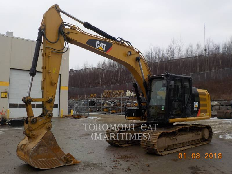 CATERPILLAR トラック油圧ショベル 318 E equipment  photo 3