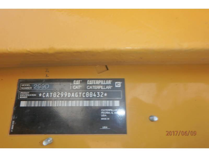 CATERPILLAR PALE CINGOLATE MULTI TERRAIN 299D equipment  photo 14