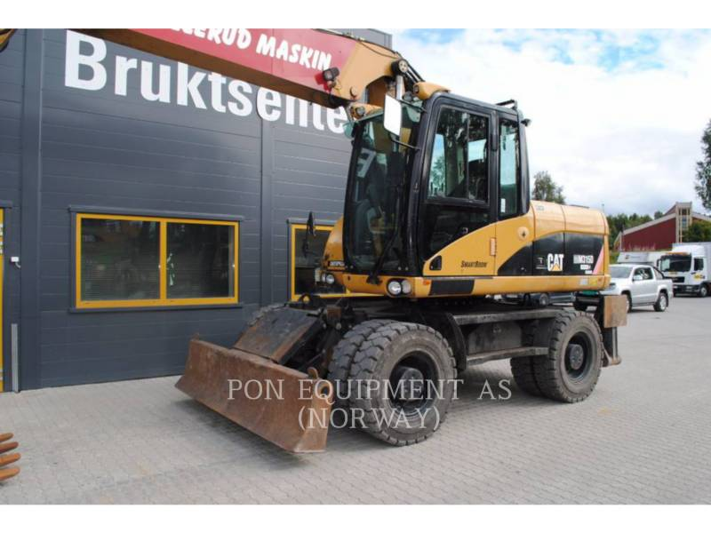 CATERPILLAR ESCAVADEIRAS DE RODAS M315D equipment  photo 7