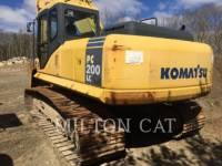 KOMATSU TRACK EXCAVATORS PC200LC equipment  photo 3