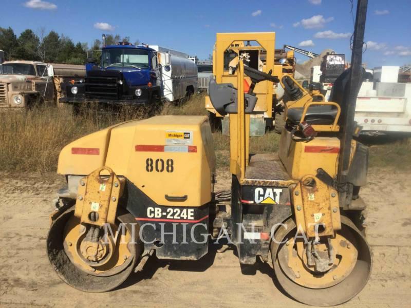 CATERPILLAR COMPACTEURS TANDEMS VIBRANTS CB224E equipment  photo 4