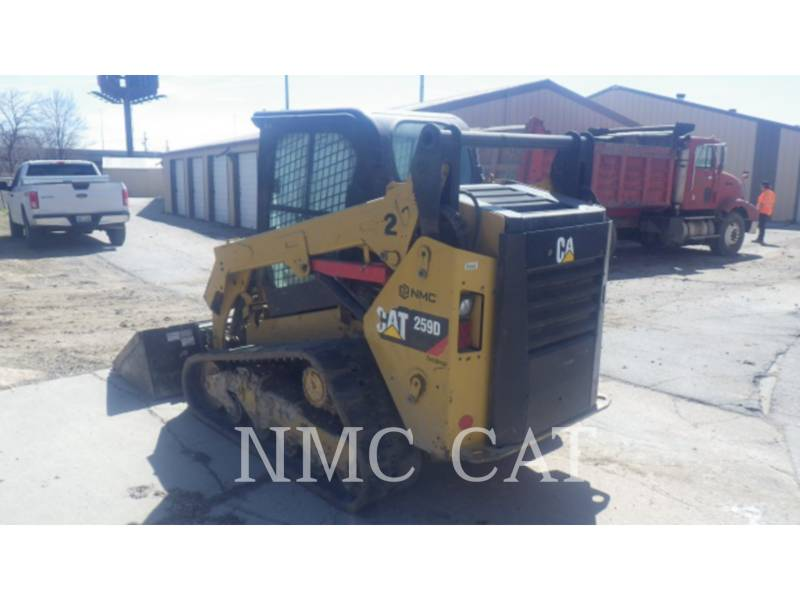 CATERPILLAR CARREGADEIRAS TODO TERRENO 259D equipment  photo 5