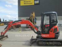Equipment photo KUBOTA TRACTOR CORPORATION U35 ГУСЕНИЧНЫЙ ЭКСКАВАТОР 1