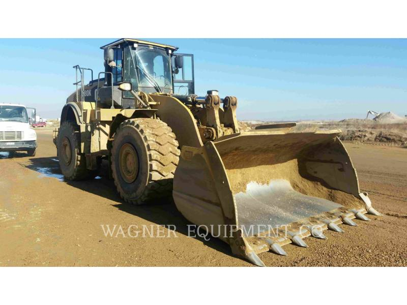 CATERPILLAR WHEEL LOADERS/INTEGRATED TOOLCARRIERS 980K AG equipment  photo 4