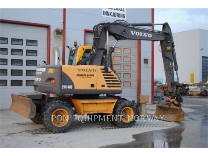 VOLVO CONSTRUCTION EQUIPMENT ホイール油圧ショベル EW140B equipment  photo 5