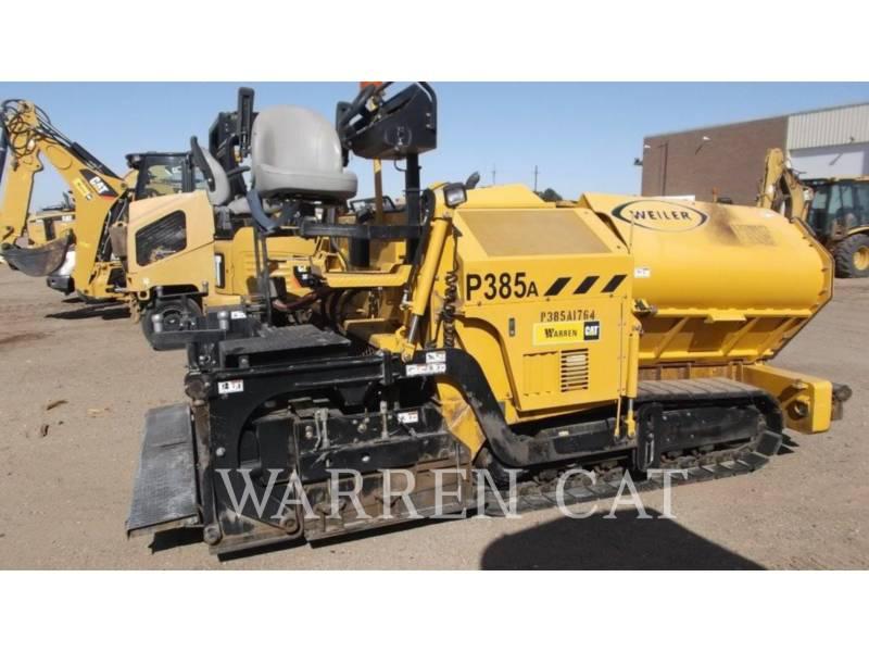 WEILER SONSTIGES P385A equipment  photo 1