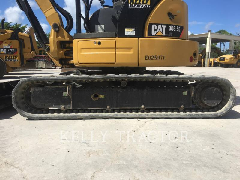 CATERPILLAR KETTEN-HYDRAULIKBAGGER 305.5ECR equipment  photo 11