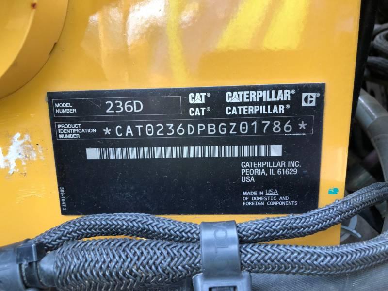 CATERPILLAR MINICARGADORAS 236D equipment  photo 18