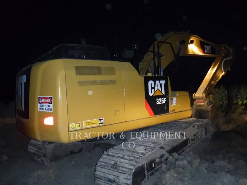CATERPILLAR PELLES SUR CHAINES 326F L equipment  photo 4