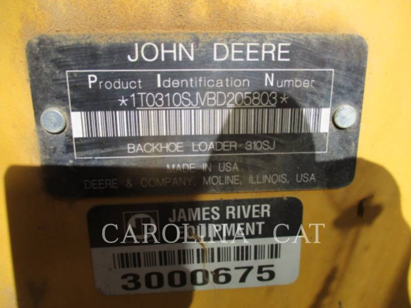 JOHN DEERE RETROEXCAVADORAS CARGADORAS 310SJ equipment  photo 9