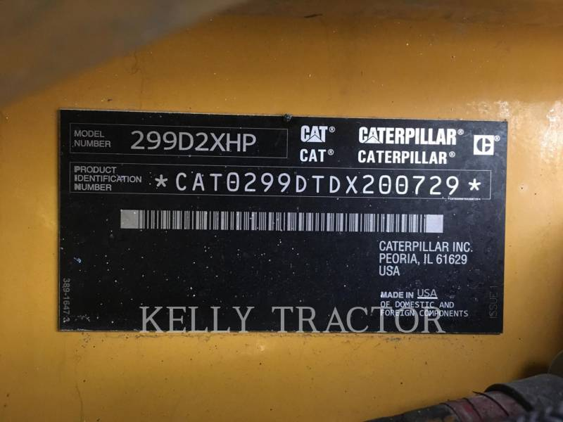 CATERPILLAR CHARGEURS TOUT TERRAIN 299D2XHP equipment  photo 17