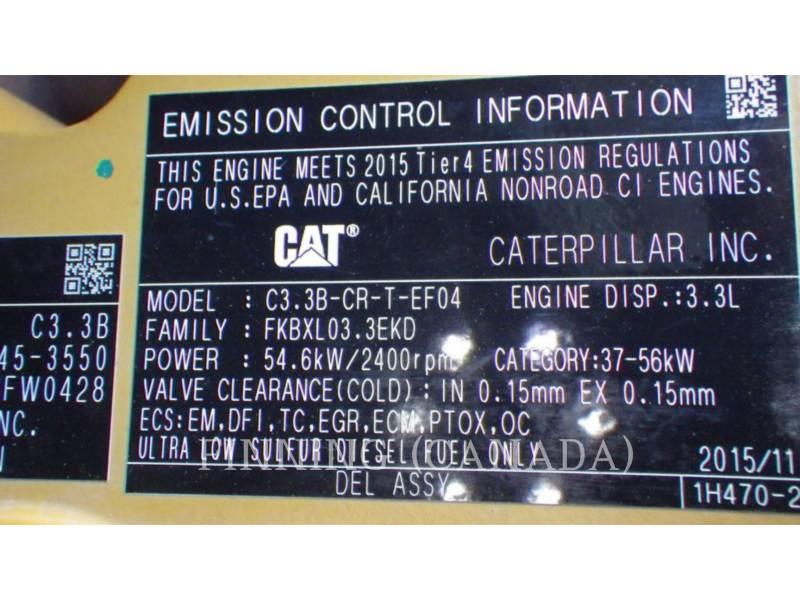CATERPILLAR CHARGEURS TOUT TERRAIN 289D equipment  photo 12