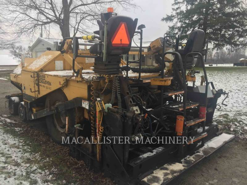 CHAMPION ASPHALT PAVERS 1010 equipment  photo 6