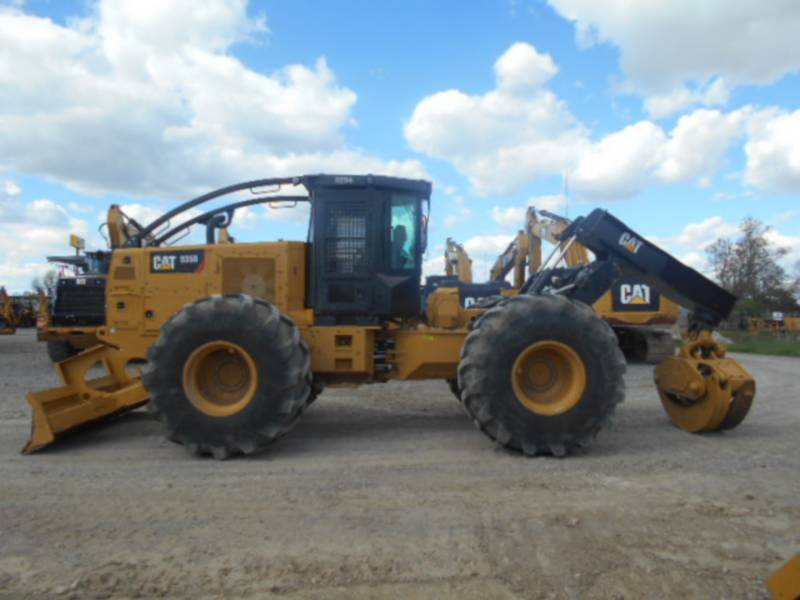 CATERPILLAR EXPLOITATION FORESTIÈRE - DÉBARDEURS 535D equipment  photo 8