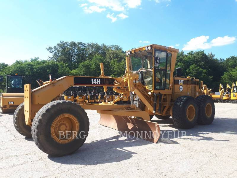 CATERPILLAR MINING MOTOR GRADER 14H equipment  photo 1