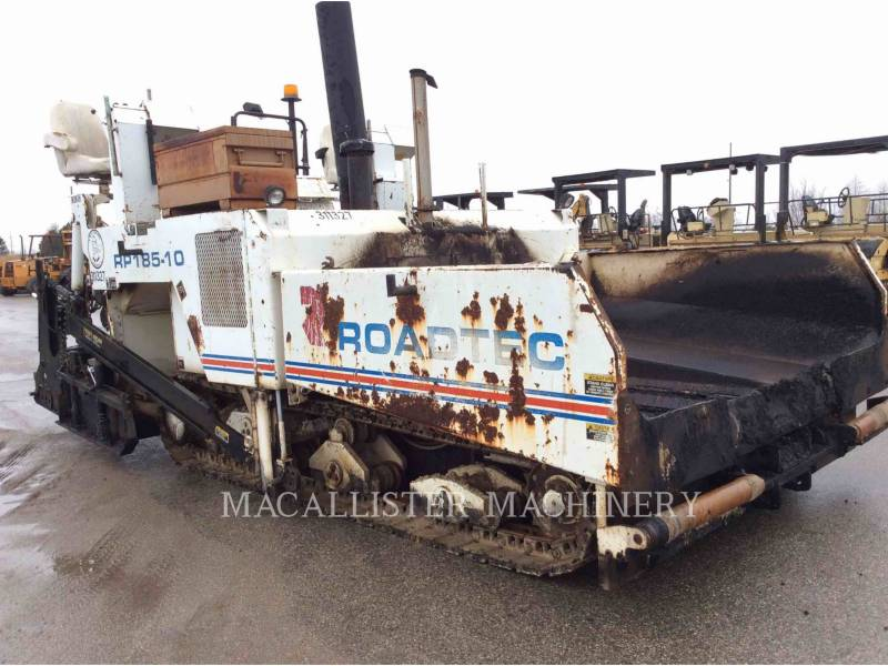 ROADTEC ASPHALT PAVERS RP185 equipment  photo 1