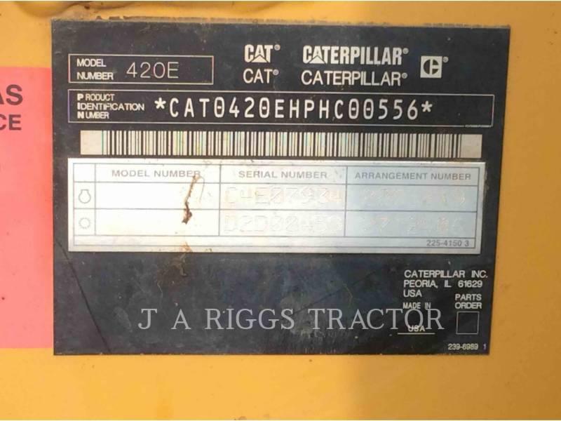 CATERPILLAR BACKHOE LOADERS 420EIT equipment  photo 9