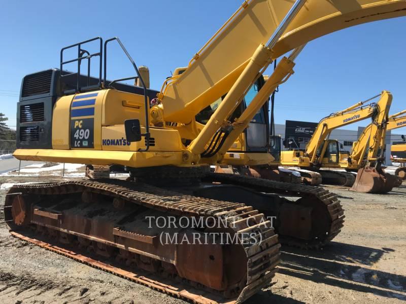 KOMATSU EXCAVADORAS DE CADENAS PC 490 LC-10 (FIXED U/C) equipment  photo 1