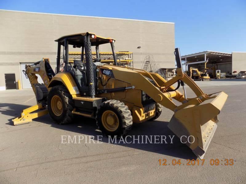 CATERPILLAR BACKHOE LOADERS 416F2 4EO equipment  photo 1