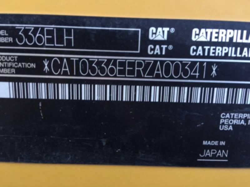 CATERPILLAR PELLE MINIERE EN BUTTE 336 ELH equipment  photo 8