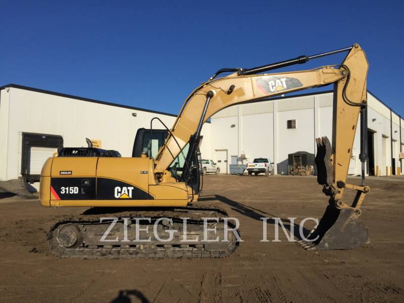 CATERPILLAR TRACK EXCAVATORS 315DL equipment  photo 6