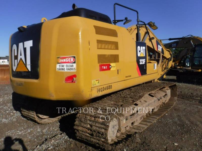 CATERPILLAR ESCAVATORI CINGOLATI 323FL equipment  photo 6