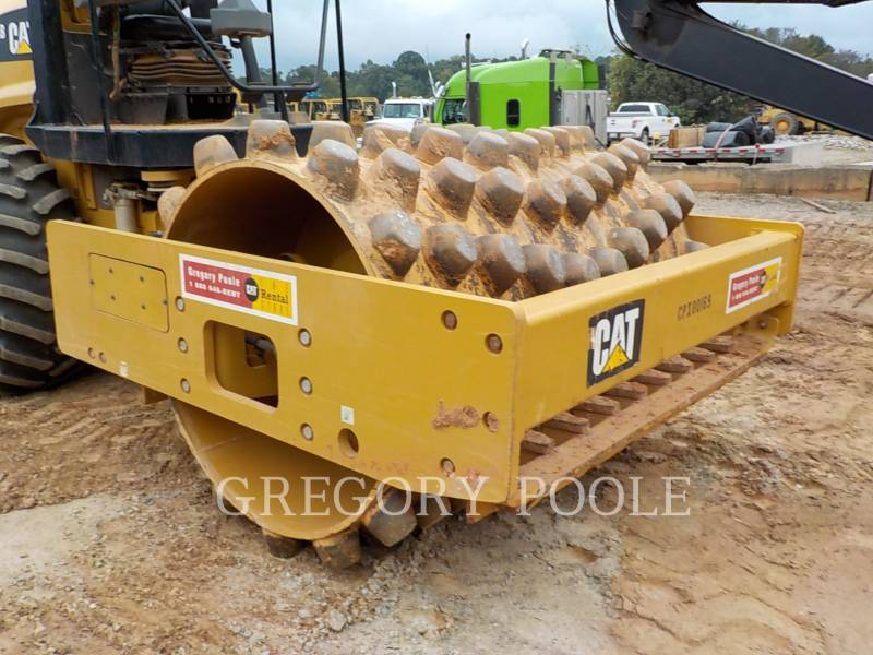 CATERPILLAR VIBRATORY SINGLE DRUM PAD CP-54B equipment  photo 6
