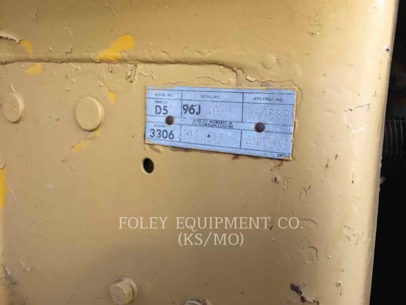 CATERPILLAR CIĄGNIKI GĄSIENICOWE D5 equipment  photo 4