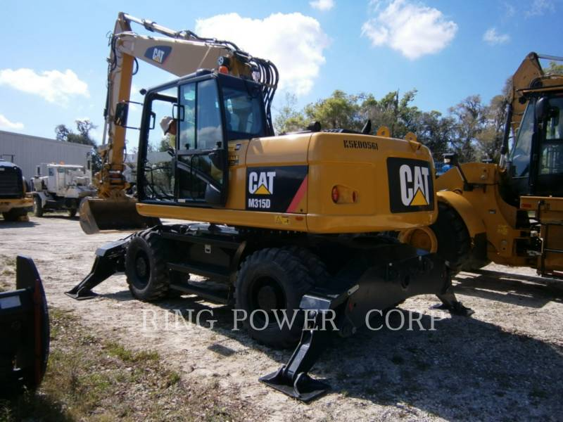 CATERPILLAR EXCAVADORAS DE CADENAS M315D equipment  photo 3