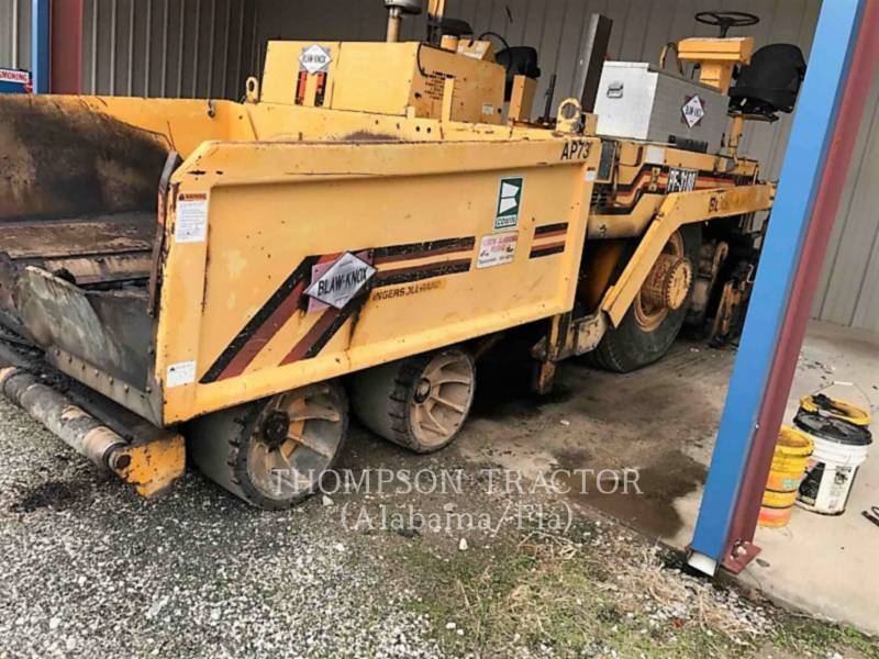 BLAW KNOX PAVIMENTADORA DE ASFALTO PF-3180 equipment  photo 1