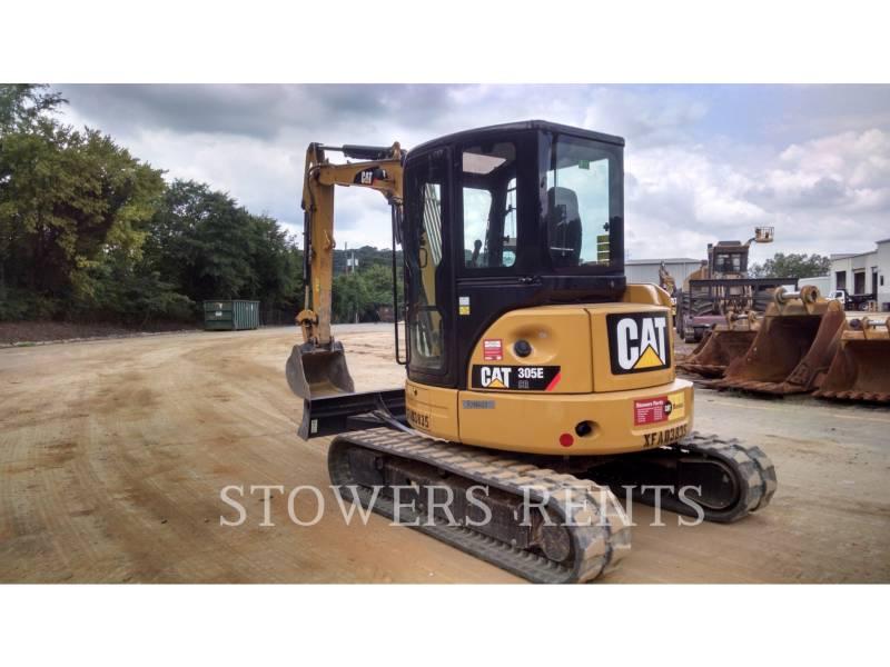 CATERPILLAR TRACK EXCAVATORS 305E CAB equipment  photo 3