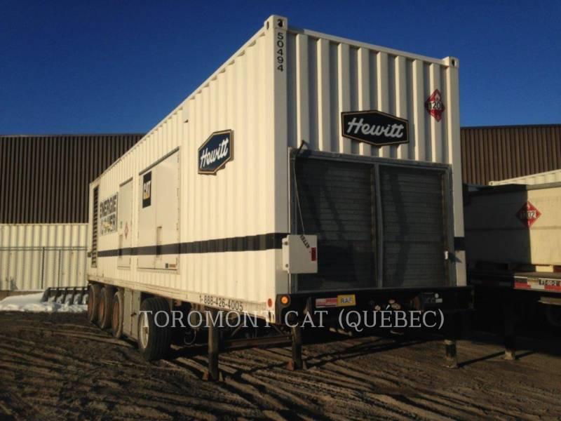 CATERPILLAR POWER MODULES (50494) XQ1000 3512 1000KW 600V equipment  photo 1