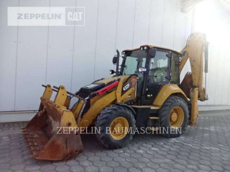 CATERPILLAR KOPARKO-ŁADOWARKI 432F equipment  photo 1